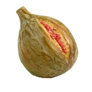 Large Green Fig with Pink Seeds (grande fico verde con semi rosa) image